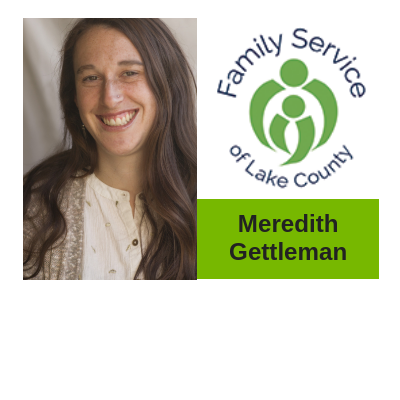 Meredith Gettleman from Family Service of Lake County
