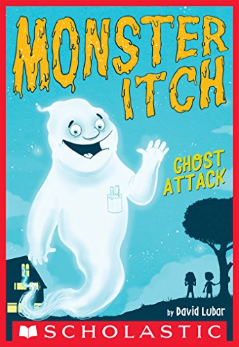 Monster Itch: Ghost Attack book cover