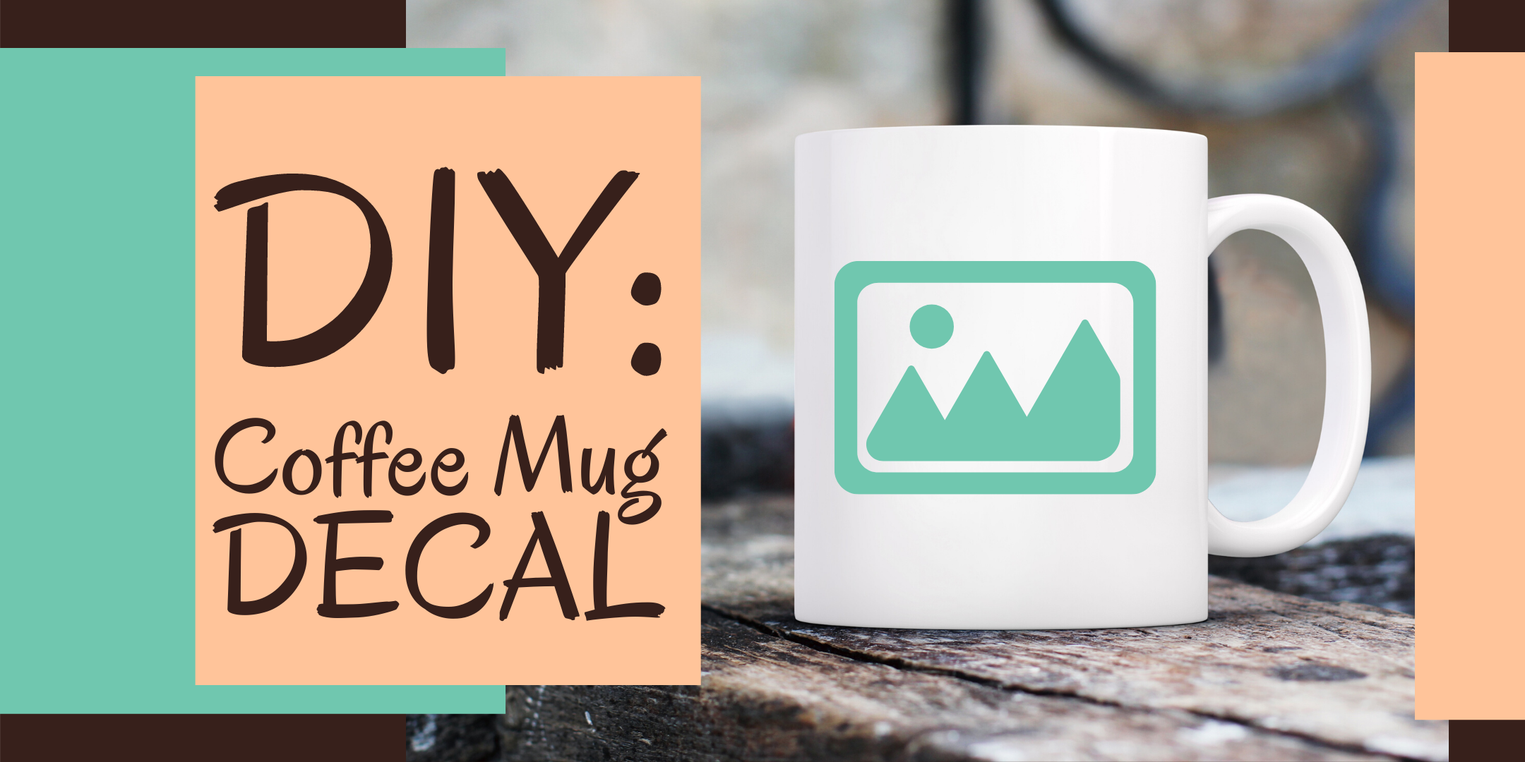 Diy Coffee Mug Decal With The Vinyl Cutter For Ages 12 Lake Forest Library