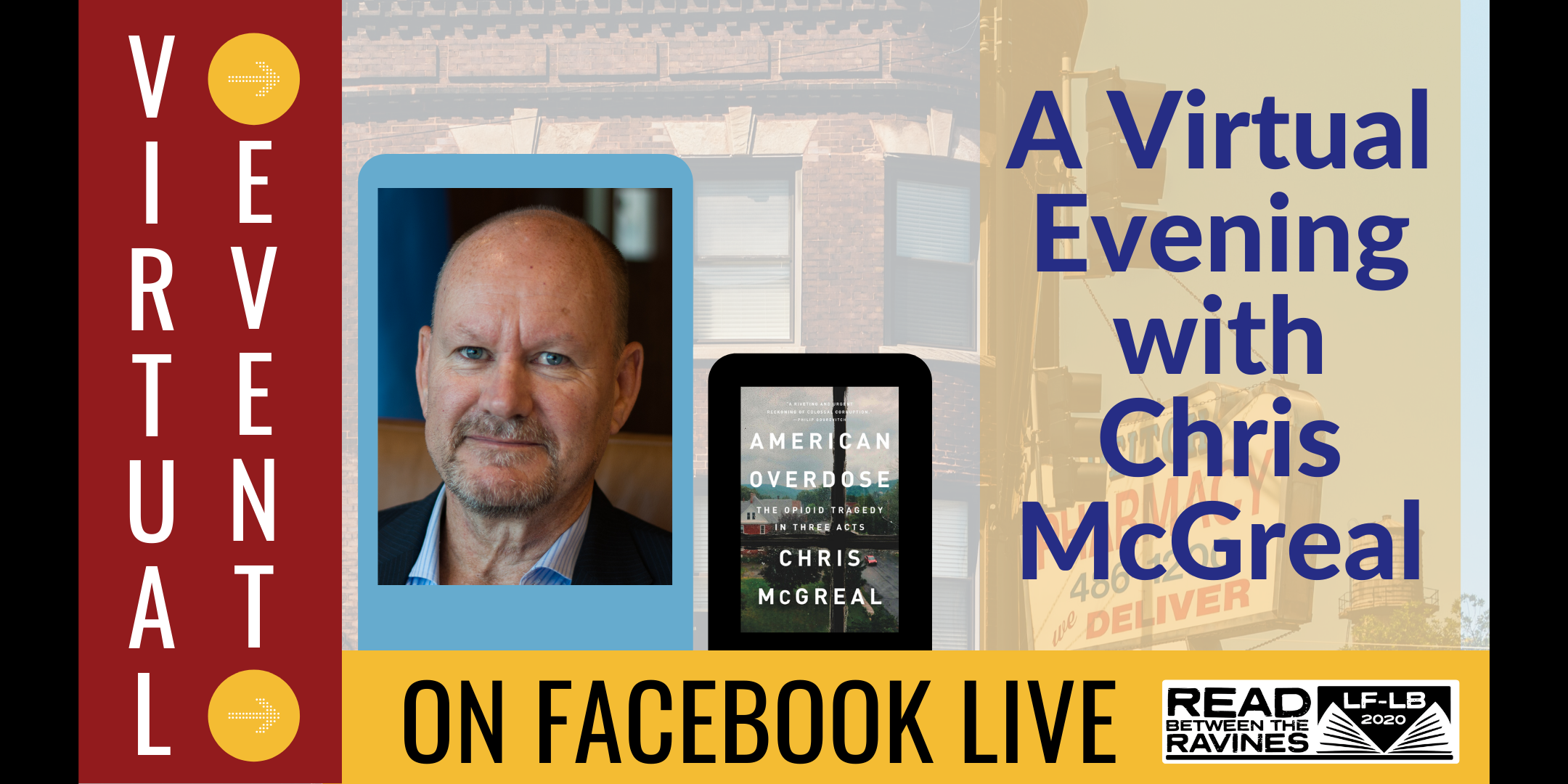 A VIrtual Evening with Chris McGreal