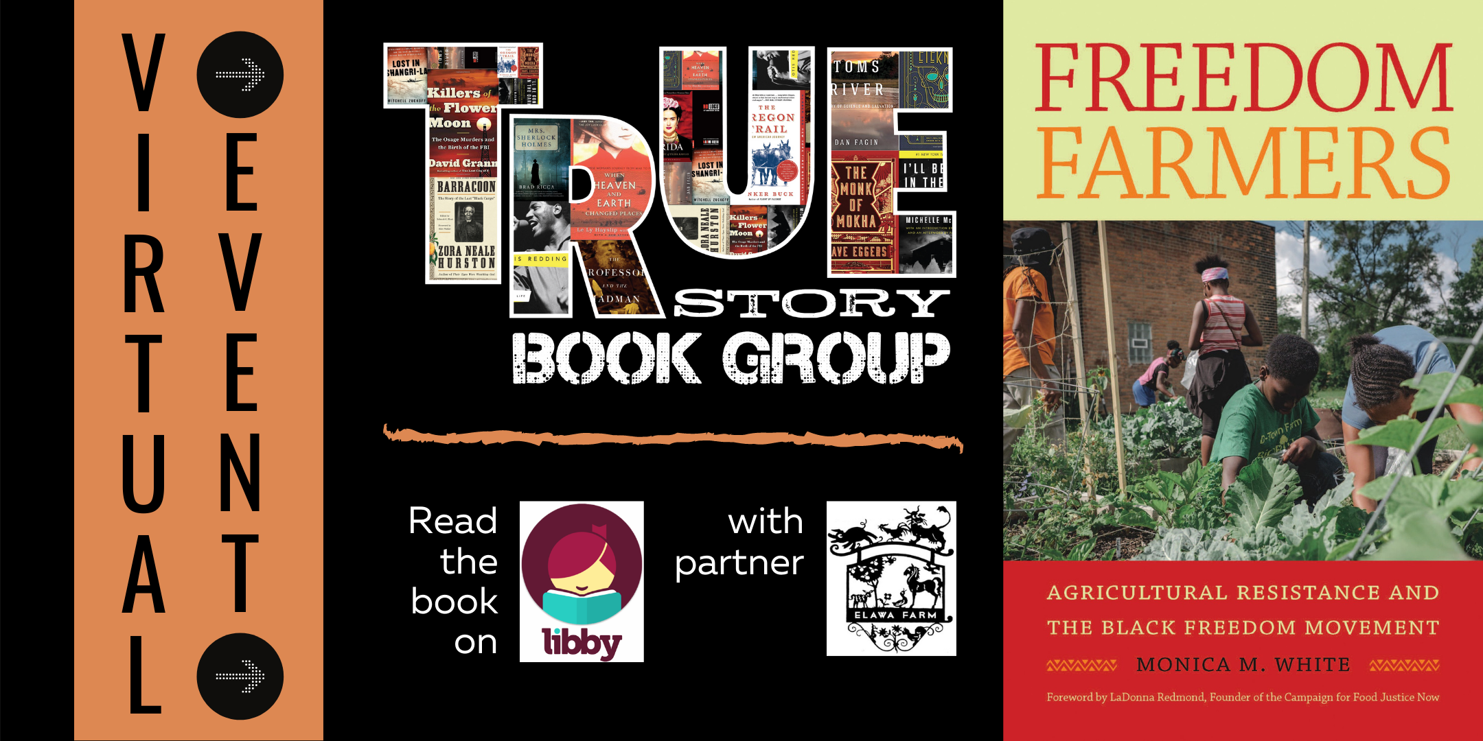 True Story Book Group: Freedom Farmers