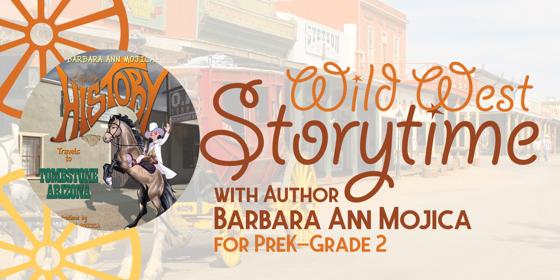 Wild West Storytime with Author Barbara Ann Mojica image
