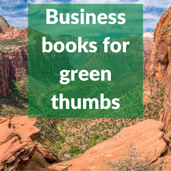 business books for green thumbs