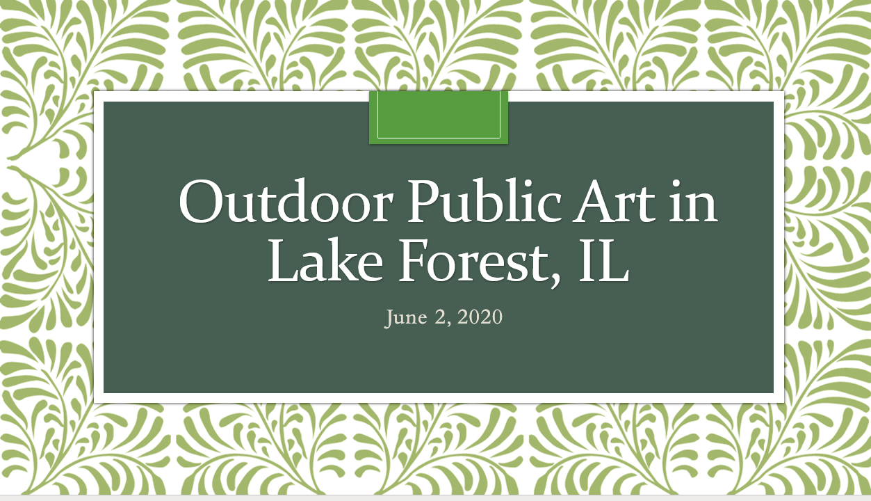 Outdoor Public Art in Lake Forest, IL