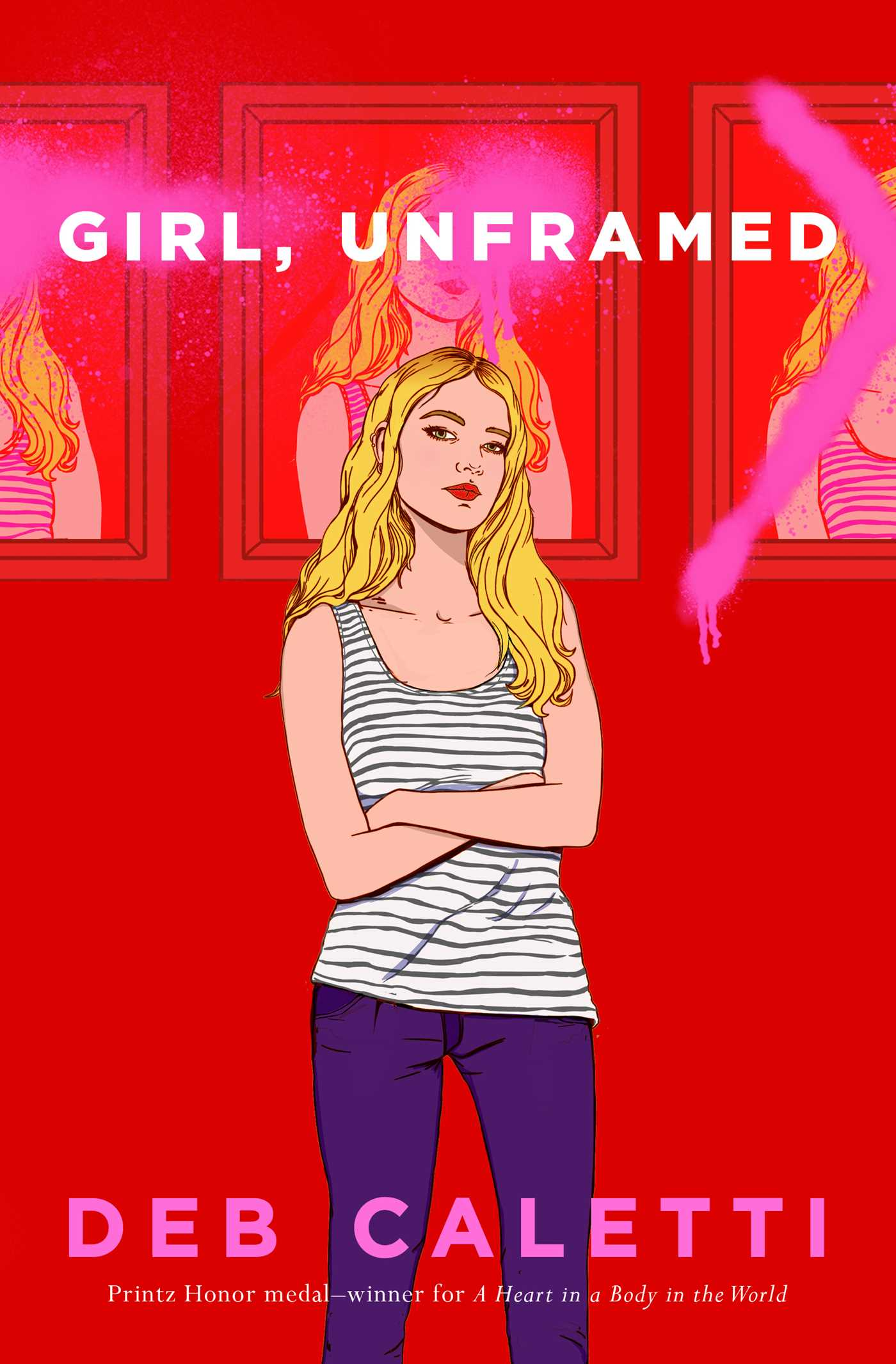 girl, unframed cover