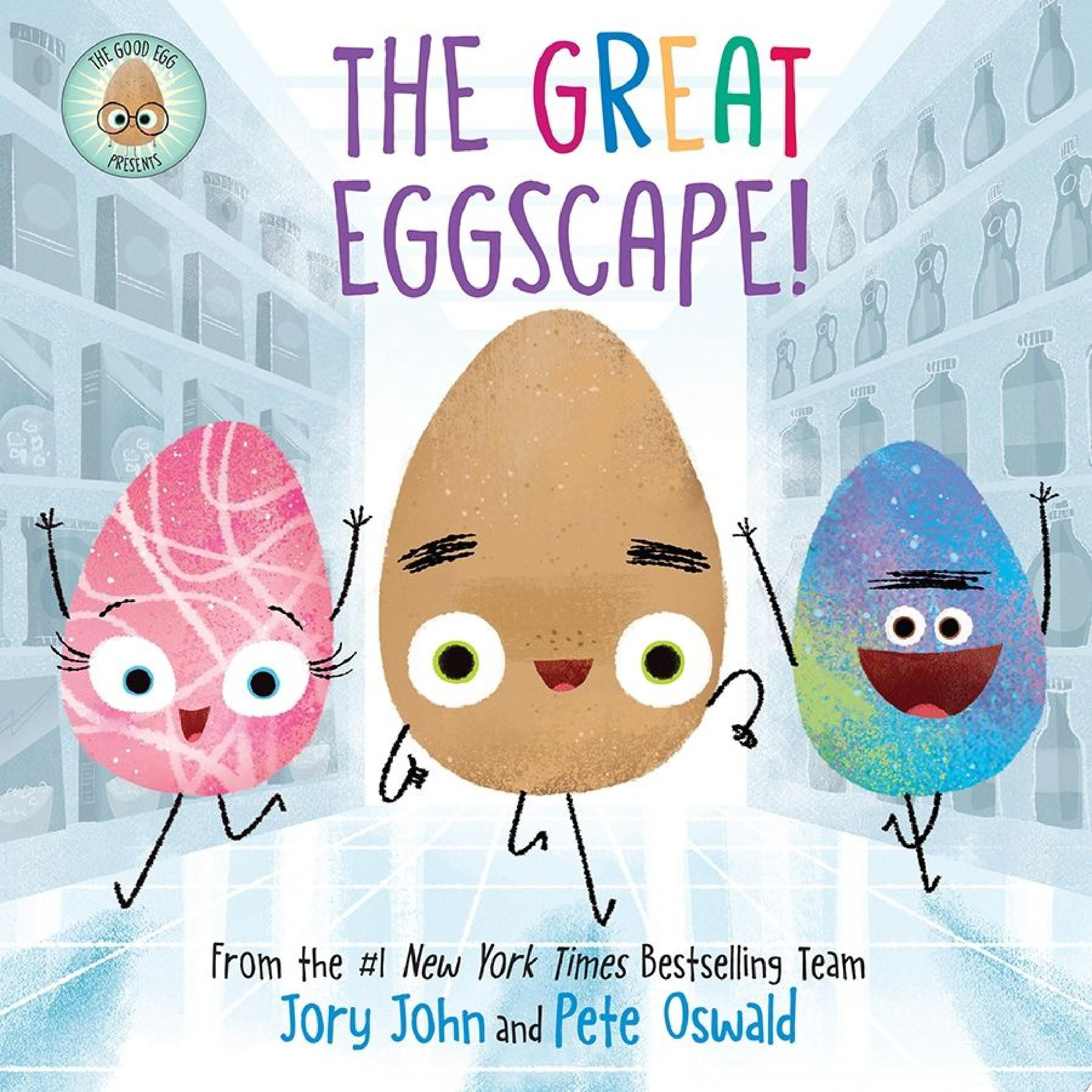"Image for ""The Good Egg Presents: The Great Eggscape!"""