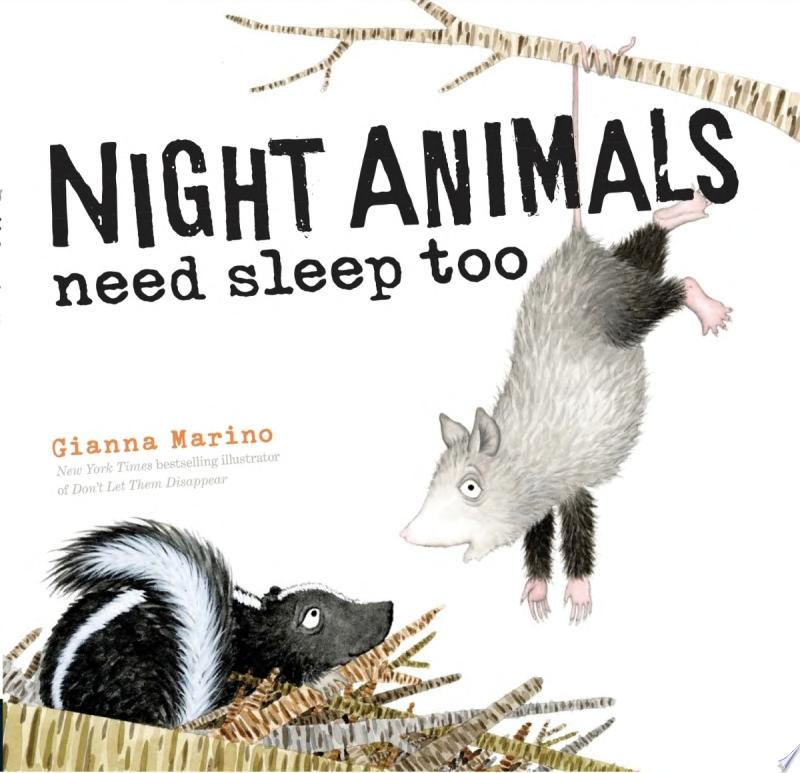 "Image for ""Night Animals Need Sleep Too"""