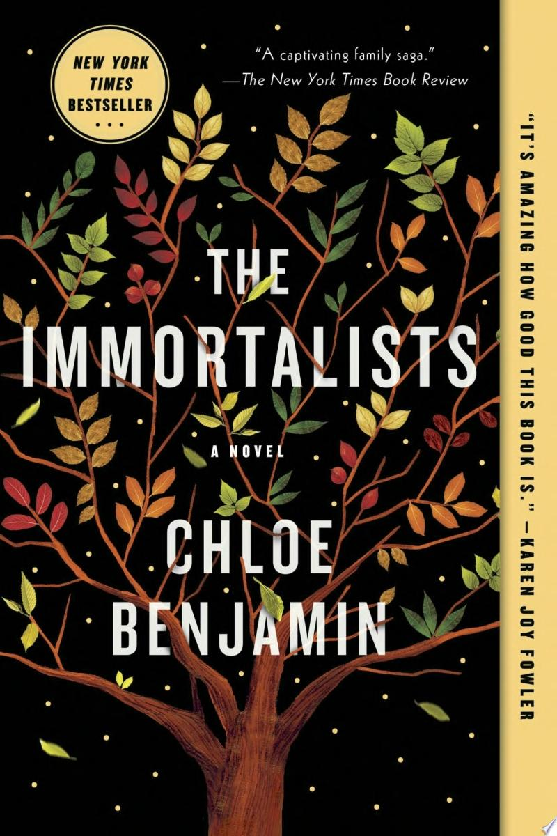 "Image for ""The Immortalists"""