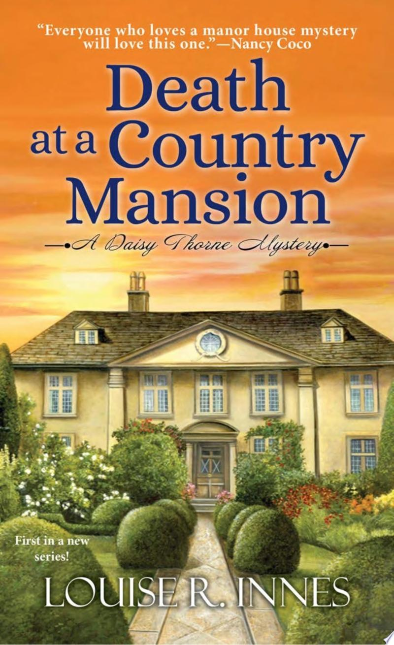 "Image for ""Death at a Country Mansion"""