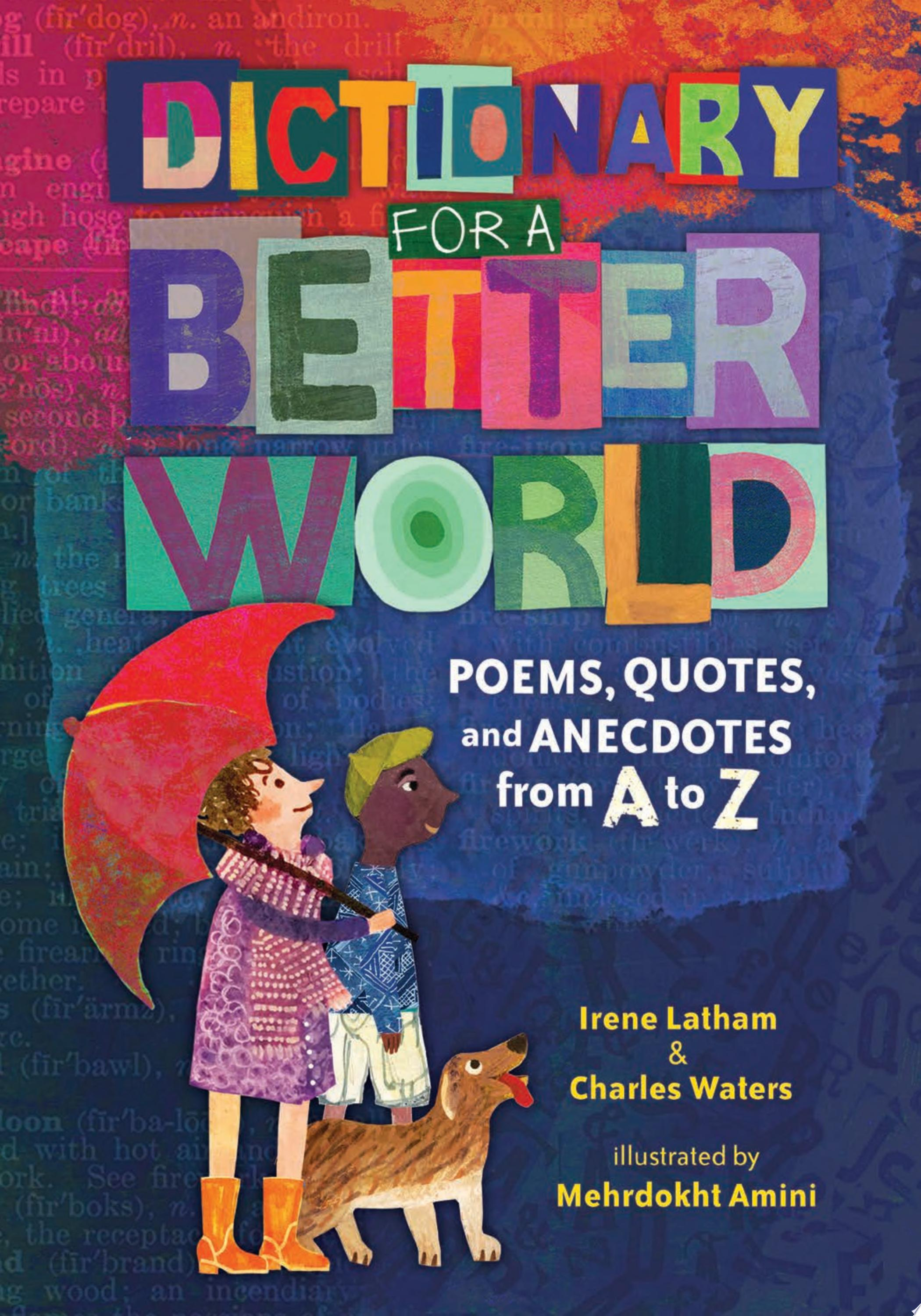 "Image for ""Dictionary for a Better World"""