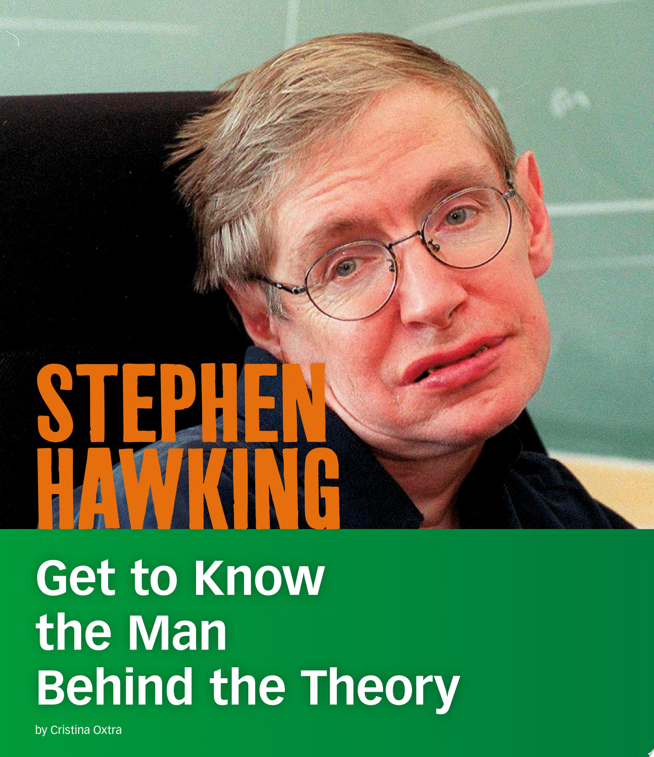 "Image for ""Stephen Hawking"""