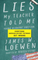 "Image for ""Lies My Teacher Told Me for Young Readers"""