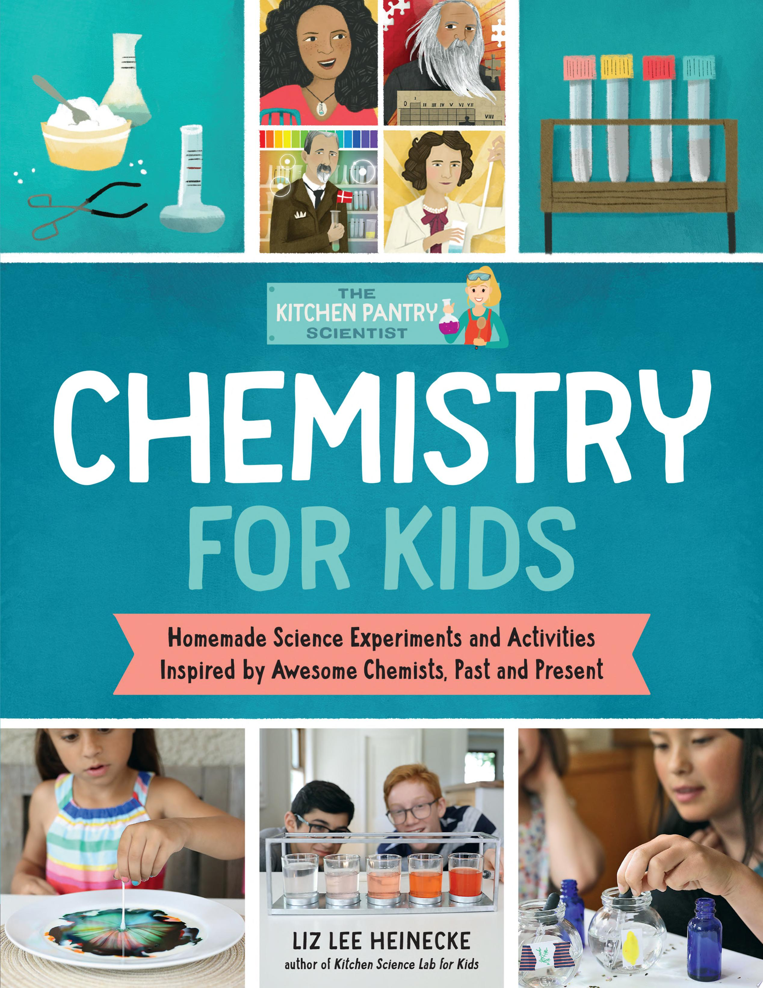 "Image for ""The Kitchen Pantry Scientist: Chemistry for Kids"""