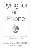 "Image for ""Dying for an IPhone"""