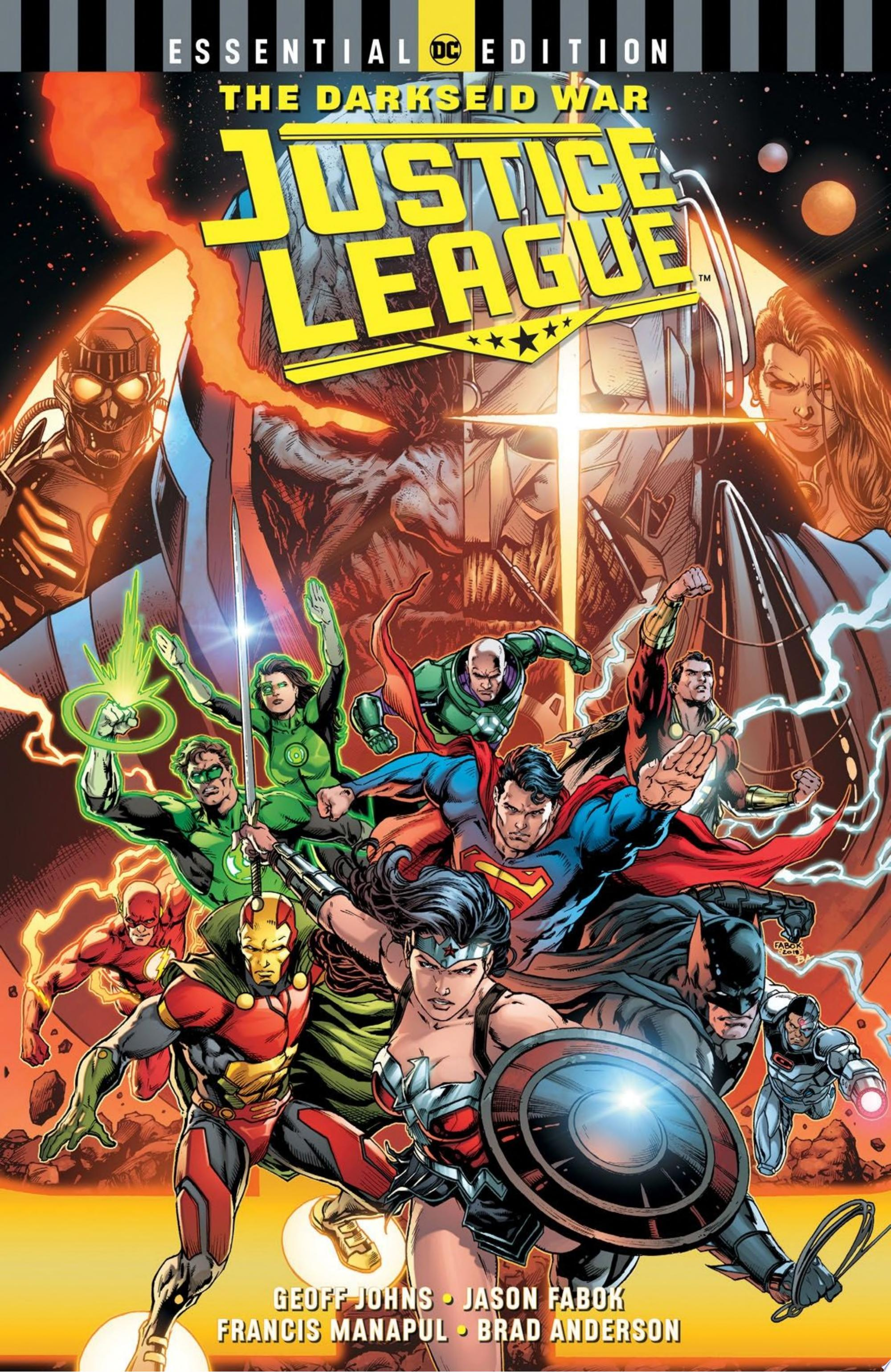 "Image for ""Justice League: The Darkseid War (DC Essential Edition)"""