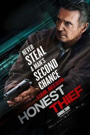 "poster image of ""Honest Thief"""