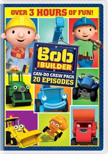 cover image of Bob the Builder: 20 Episodes Can Do Crew