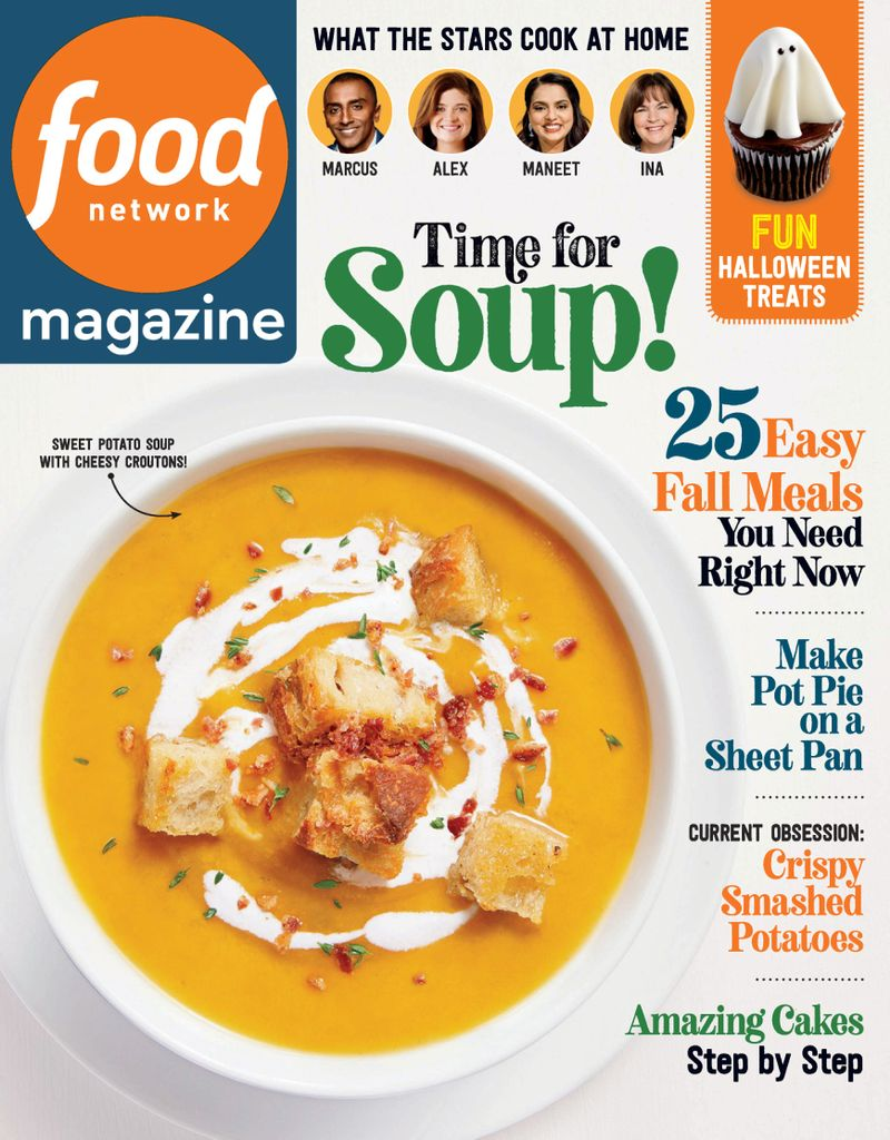 cover of Food Network magazine