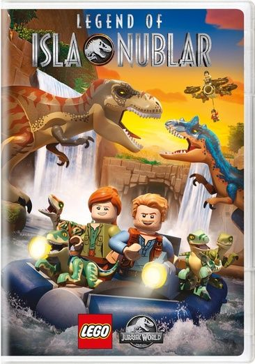 cover image of Lego Jurassic World: Legend of Isla Nublar