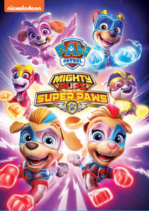 cover image of Paw Patrol: Mighty Pups