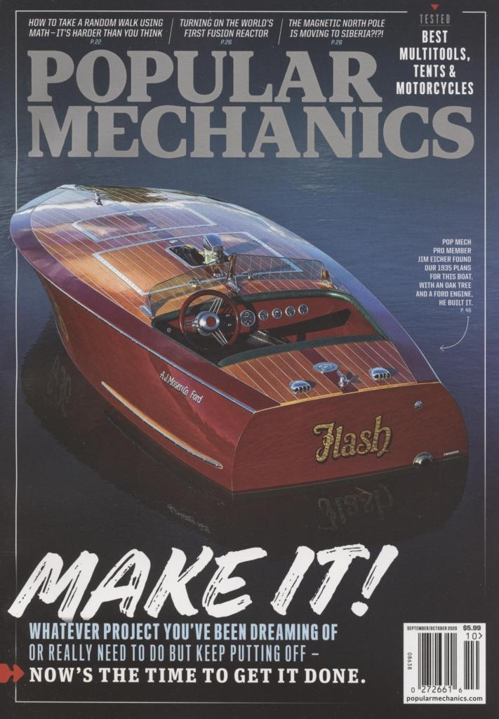 cover of Popular Mechanics magazine