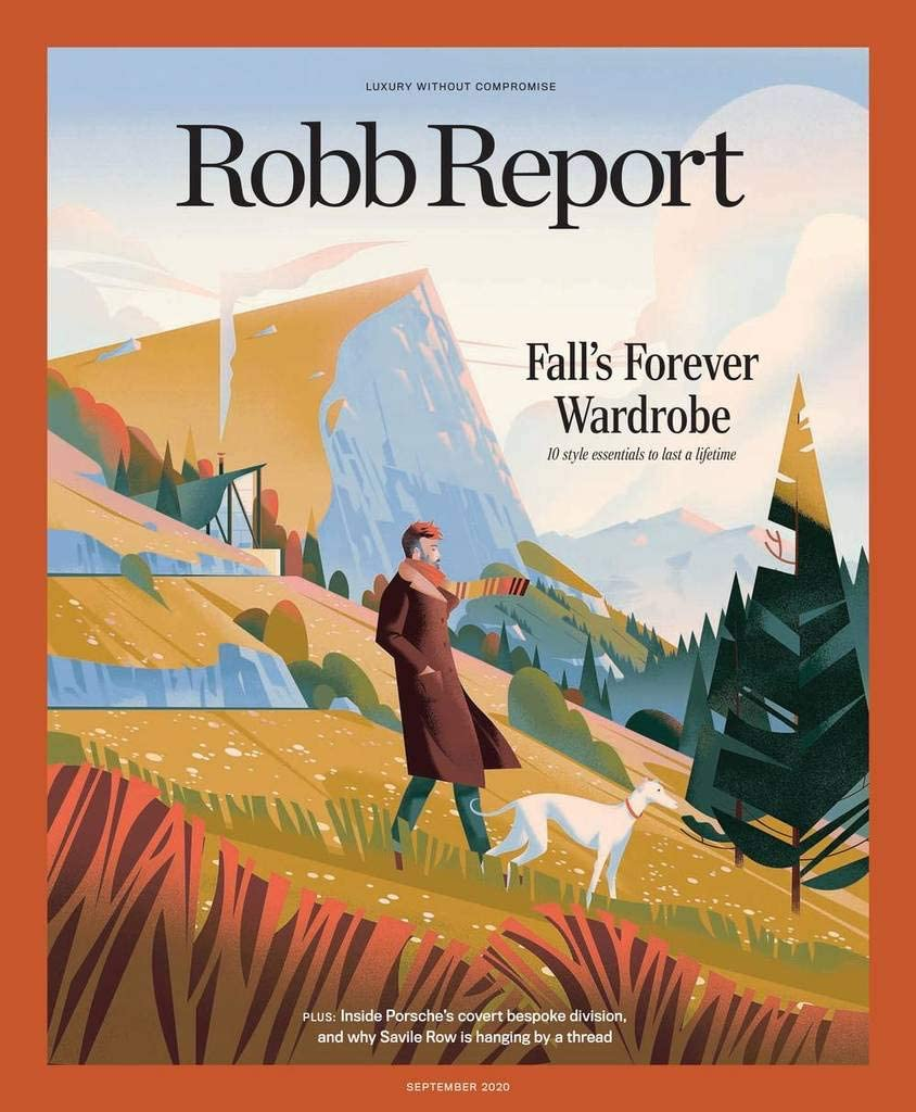 cover of Robb Report magazine