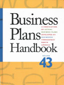 Cover image for Business Plans Handbook