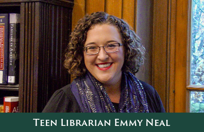 Lake Forest Library Teen Librarian Emmy Neal