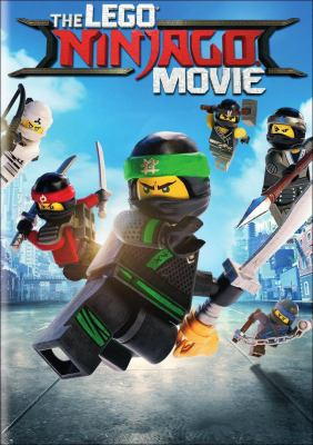 Lego Ninjago Movie Cover