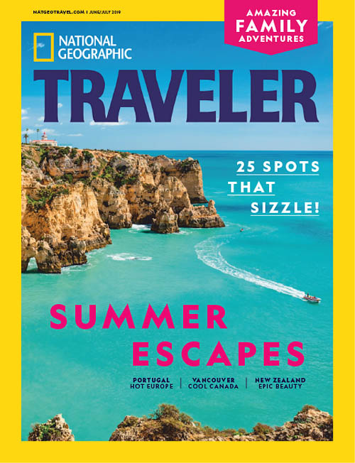 National Geographic Traveler magazine cover