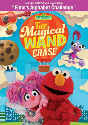 Sesame Street: The magical wand chase movie poster