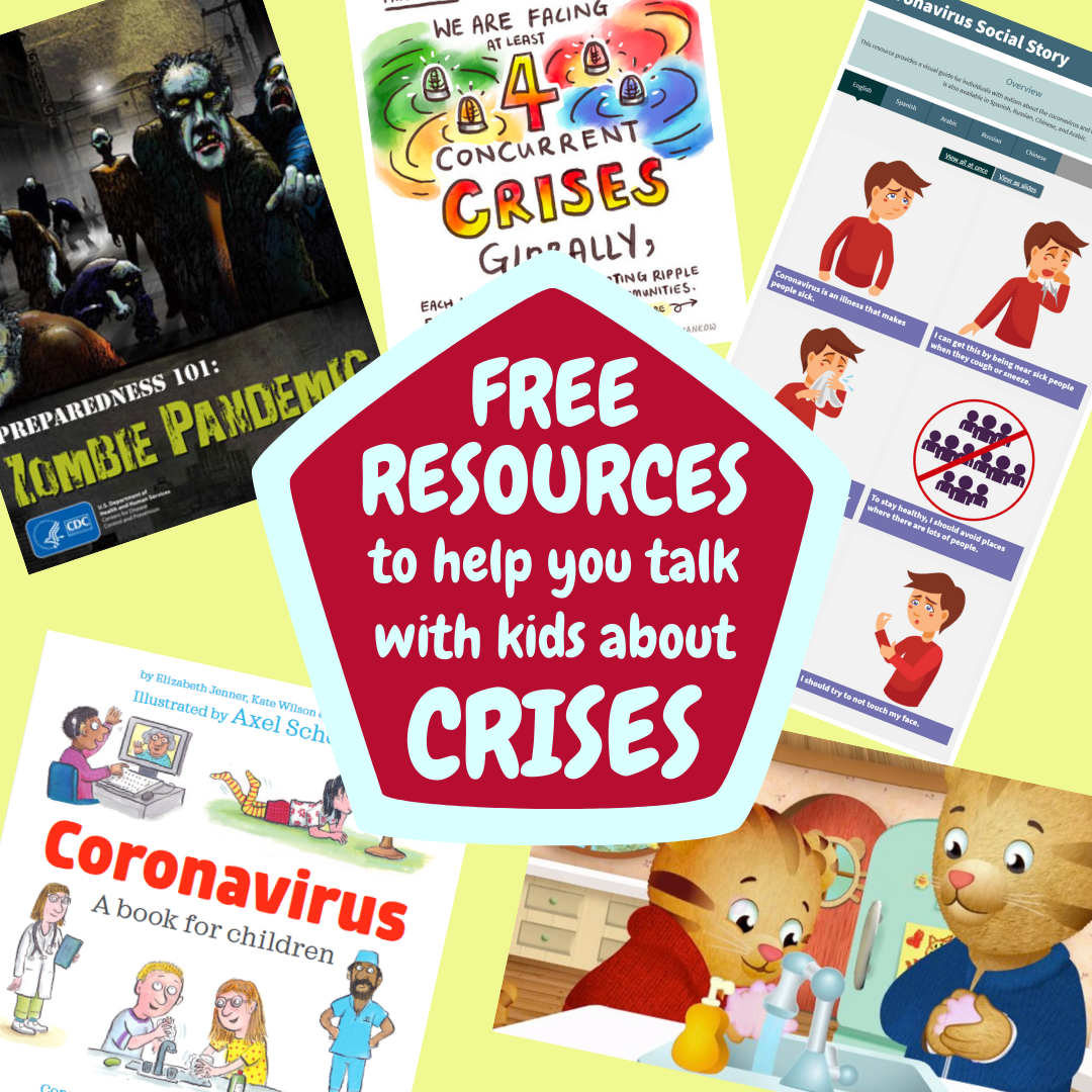 Resources to talk with kids about crises