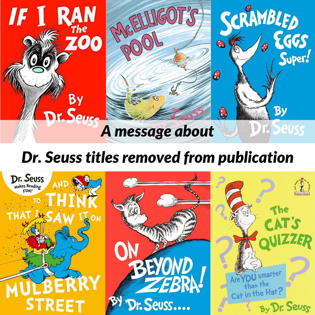 Seuss titles removed from publication