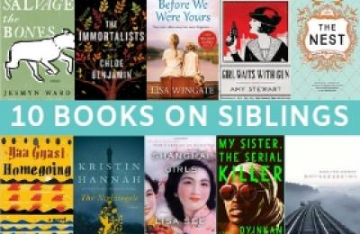 10 Books on Siblings with book covers