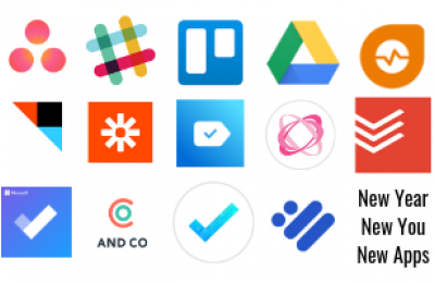 Collage of app logos
