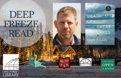 Deep Freeze Read author Dan Egan