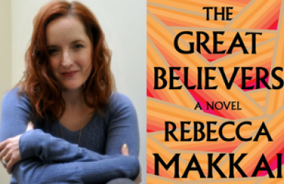 Rebecca Makkai and The Great Believers book cover