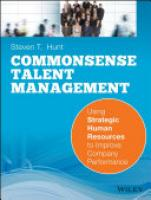 Cover image for Common Sense Talent Management