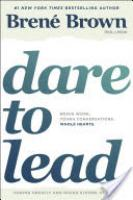 Cover image for Dare to Lead