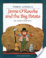 Cover image for Jamie O'Rourke and the Big Potato