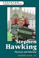 Cover image for Stephen Hawking