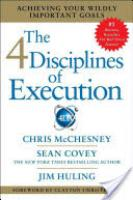 Cover image for The 4 Disciplines of Execution