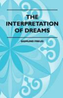 Cover image for The Interpretation of Dreams