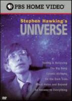 Movie cover for Stephen Hawking's Universe