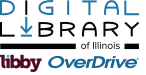 Digital Library of Illinois Libby Overdrive logo