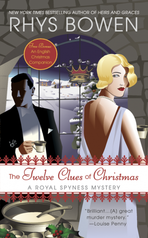 The Twelve Clues of Christmas book cover