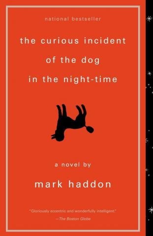 Book cover The Curious Incident of the Dog in the Night-time