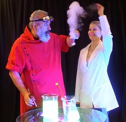 Crazy Science Bubble Show with Professor Suds