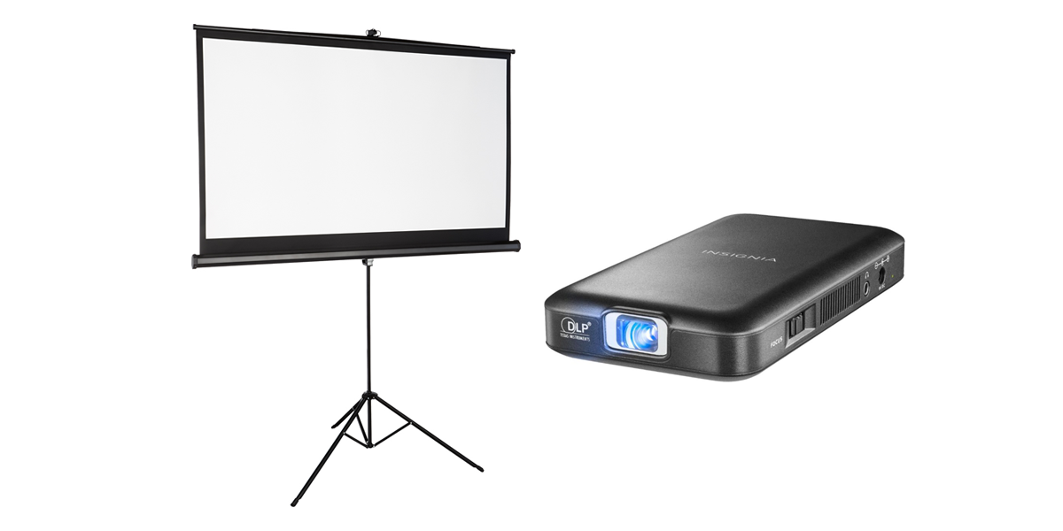 Screen and Projector Kit