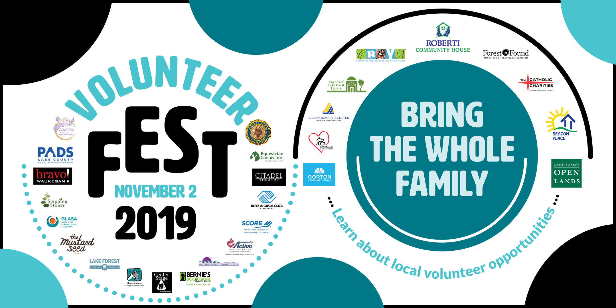 Volunteer Fest at Lake Forest Library